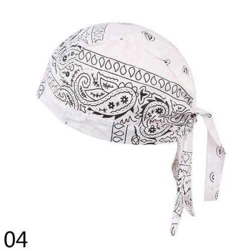 Men Women Velvet Breathable Bandana Hat Turban Caps Doo Durag Headwear