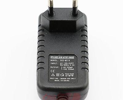 Ni-MH Ni-Cd Charger to battery 2.4V 3.6V 4.8V 6V 7.2V 8.4V 9.6V 10.8V 12V EU R