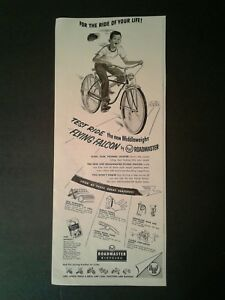 1955 Roadmaster Boys Bicycles Flying Falcon~For the Ride ...