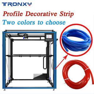 Tronxy Profile Decorative Slot Soft Strip Blue/Red Flat Seal DIY For 3D Printer