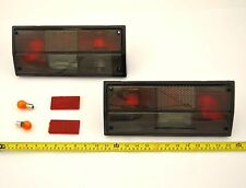 Pair of Smoked Rear Lights DEPO New For VW Transporter T25 T3 Van Bus 85 to 92