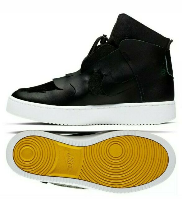 Nike W Vandalised LX force high rare hi BQ3611-001 black Anthracite Women size 7
