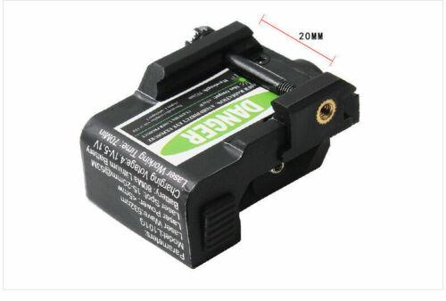 Pistol Green Laser Sight Low Profile Sensor Switch Built-in Battery Rechargeable