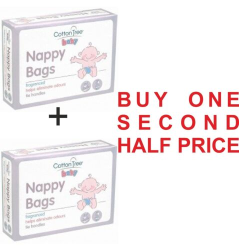 Cotton Tree Disposable Nappy Bags-Fragnaced-Buy 1 Second Half Price Offer-CT051