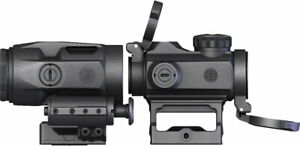 Sig Sauer SORJ72001 Romeo MSR 1x20mm Red Dot & Juliet3 Micro Magnifier Combo Kit