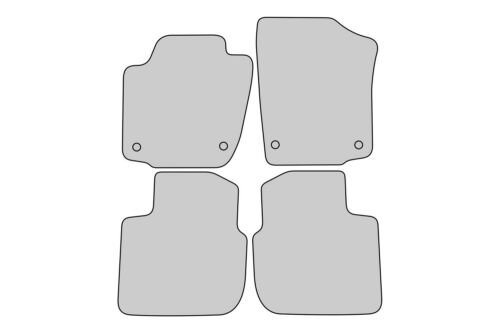 2012 Exclusive Design Fußmatten für Skoda Rapid Bj