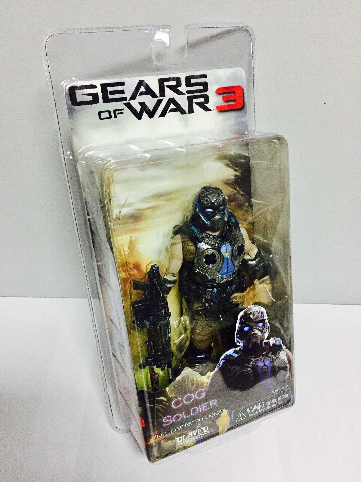 NECA GEARS OF WAR 3 (SERIES 3) COG SOLDIER 7  inch ACTION FIGURE 2012
