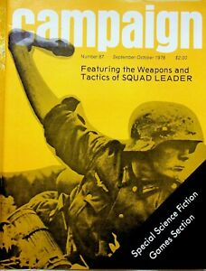 Vintage-034-Campaign-034-87-Magazine-1978-Featuring-Weapons-amp-Tactics-of-Squad-Leader