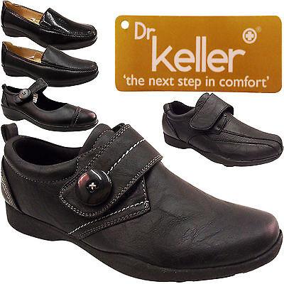 Nuevo Para mujeres Damas Baja Plana táctil de ancho de trabajo duro Suela Confort Enfermera Zapatos Talla