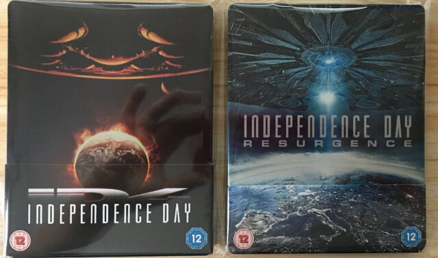 Independence Day 2-Movie Collection Blu Ray Steelbook