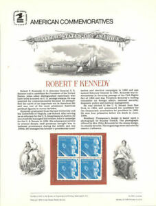 105-15c-Robert-F-Kennedy-1770-USPS-Commemorative-Stamp-Panel