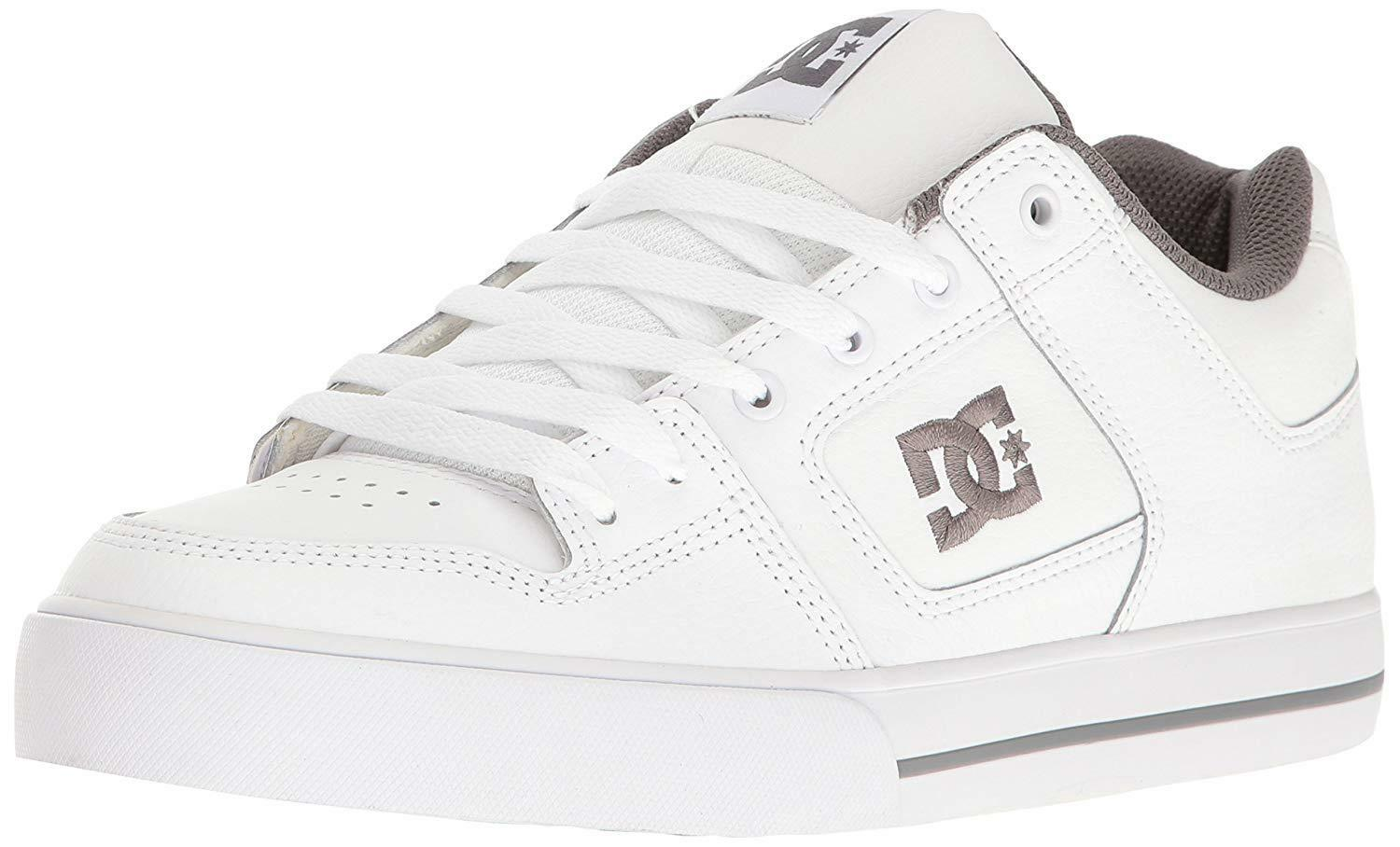 DC  Uomo Pure Action / Sport Sneaker Schuhes Weiß / Action Battleship / Weiß 10.5 DM US dcbe7b