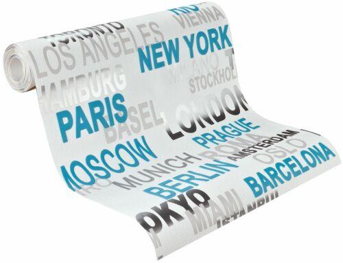 Papier Peint Rasch Kids/' Club 2014 revêtements intissés 766714 villes Paris Munich n