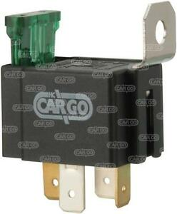 CARGO NEW 4 Pin Universal FUSED RELAY SWITCH NORMALLY OPEN 24V 30A 160473