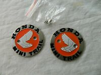 Honda Z50 Mini Trail Ko-k1 Gas Tank Emblems