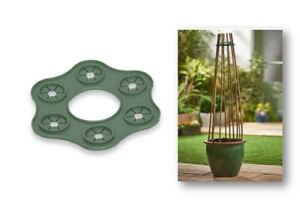 Image Is Loading Cane Wigwam Garden Bamboo Cane Plant Support Structure