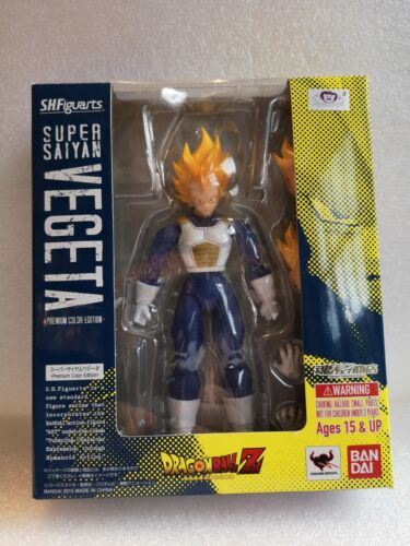 Dragon Ball Z Super Saiyan Vegeta Premium Colour Edition Bandai SH.Figuarts
