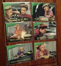 Star Trek Voyager Season 1 Series 2 Neelix Subset Scratch-N-Sniff R1-R6
