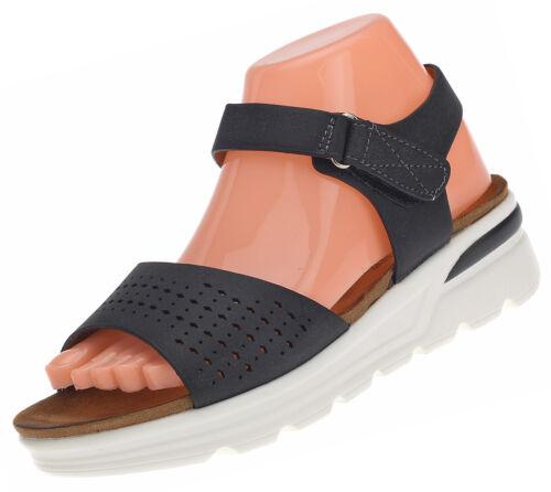 Damen Sandalen Sandalette Keilabsatz Wedges Plateau Comfort Freizeit Schuhe 6675