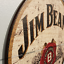 thumbnail 34 - Wood Bar Signs Vintage Retro Pub Man Cave Wall Sign Wooden Circle Plaques. UK