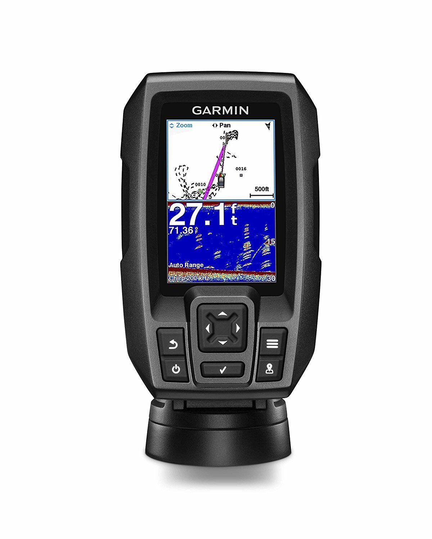 Garmin Striker 4 Fishfinder con 4-Pin 77 200kHz Tm Transductor 010-01550-00