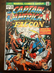 CAPTAIN-AMERICA-167-Marvel-Comics-THE-FALCON-1973