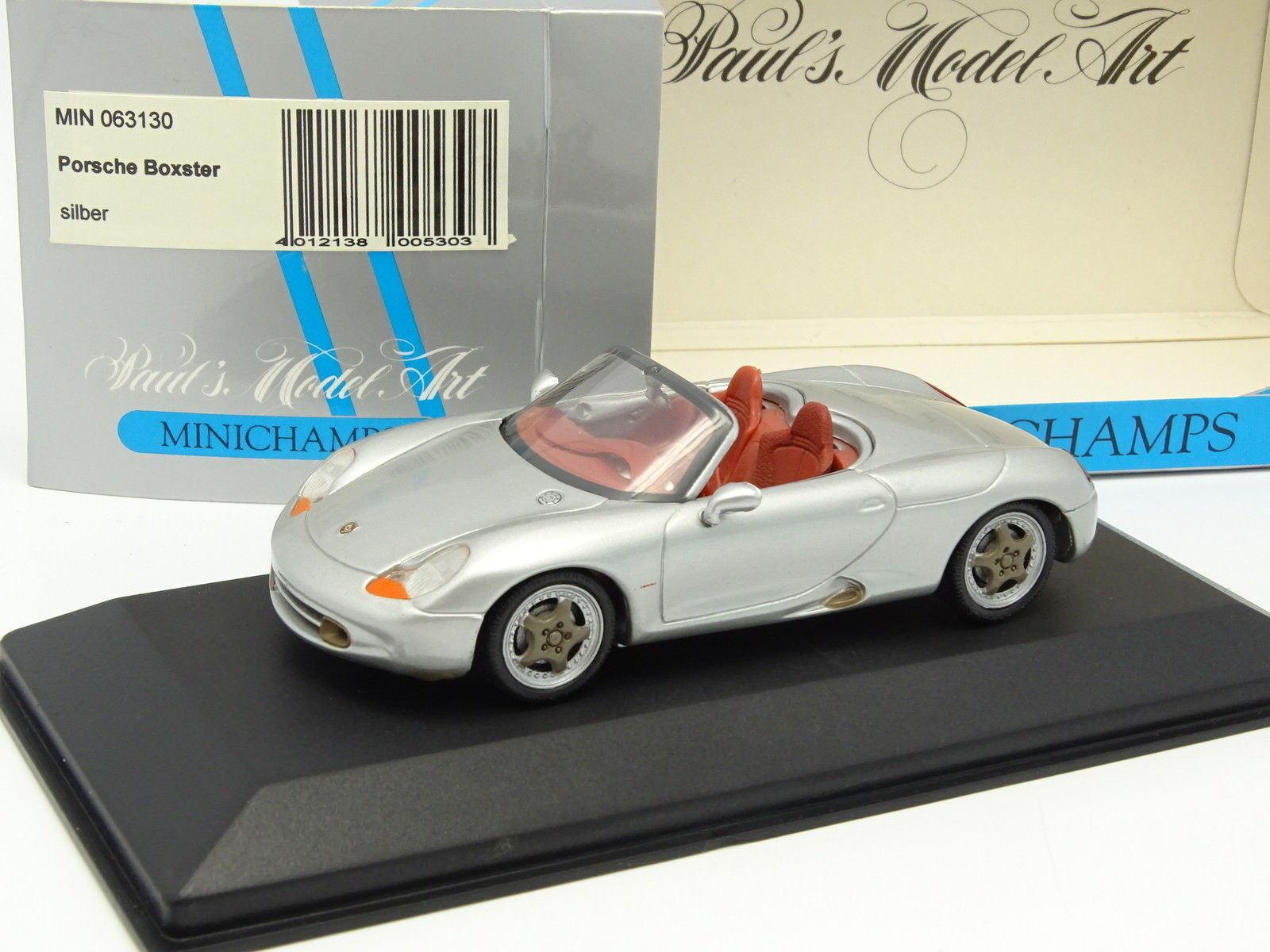 Minichamps 1 43 - Porsche Boxster Concept silver