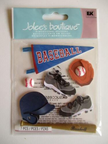 Bola de Murciélago Jolee/'s Boutique Pegatinas-Gorra de béisbol con Banner