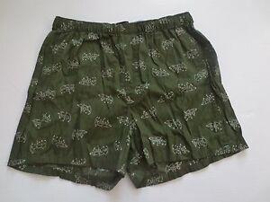 Banana-Republic-Green-X-vs-o-Boxer-Shorts-100-coton-Taille-S-Neuf-avec-etiquettes