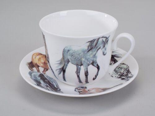 Roy Kirkham My Horses  Jumbotasse mit Untertasse 297686