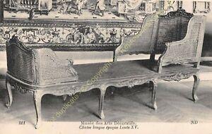 Postcard-Arts-Decorative-Furniture-Chaise-Long-Period-Louis-XV-Edit-ND-211
