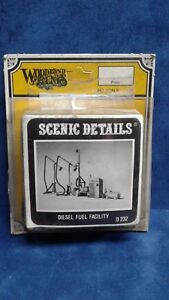 Woodland-Scenics-HO-HOn3-Diesel-Fuel-Facility-D232