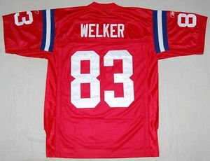 Image is loading WES-WELKER-NEW-ENGLAND-PATRIOTS-50TH-ANNIVERSARY-REEBOK- db0e488f4