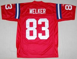 Image is loading WES-WELKER-NEW-ENGLAND-PATRIOTS-50TH-ANNIVERSARY-REEBOK- 07e7ce111