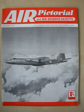 AIR PICTORIAL MAGAZINE SEPTEMBER 1955 ENGLISH ELECTRIC CANBERRA