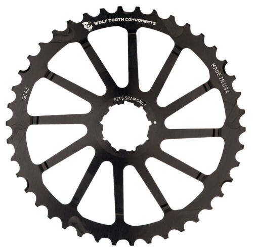 New Wolf Tooth GC42 42 tooth Giant Cog sprocket SRAM 10 speed Black