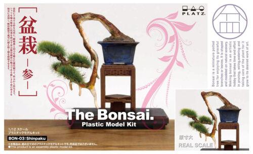 1//12 The Bonsai 3 Shinpaku Plastic Model Kit BON-03 Platz Japan