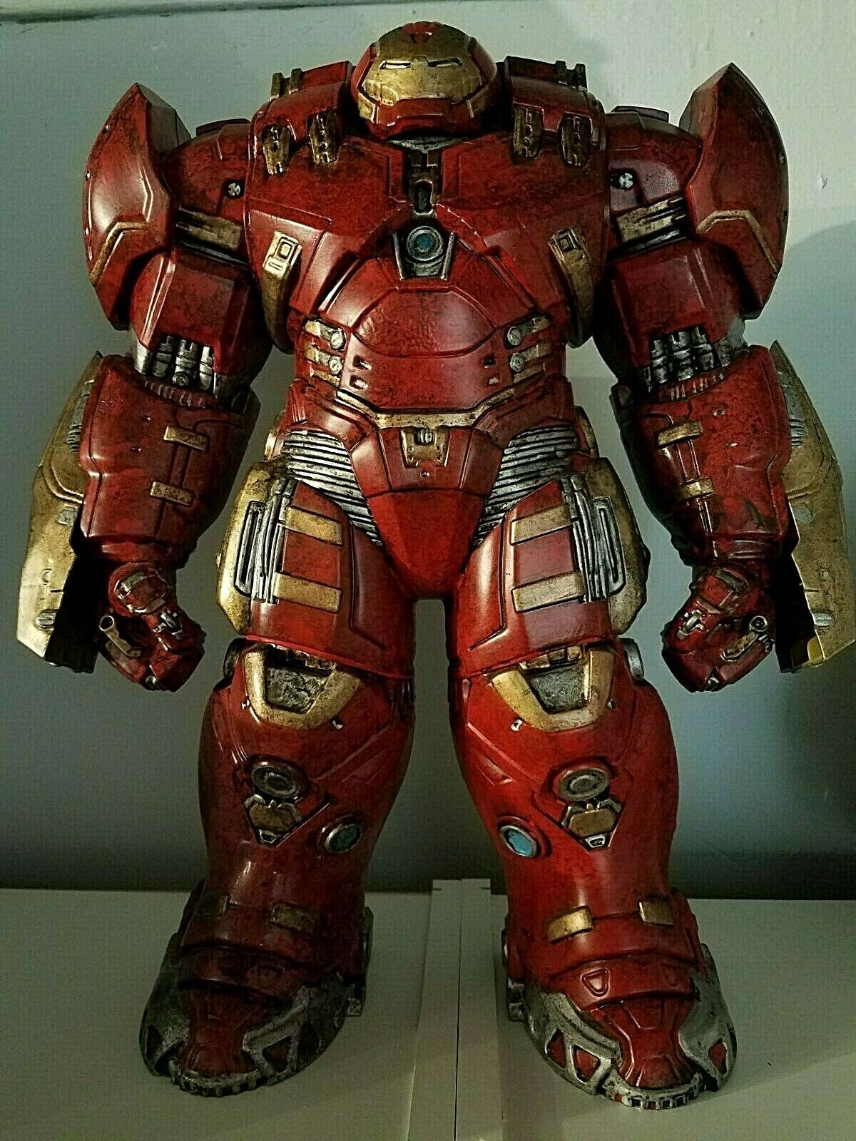 "7/"" Avengers 2 Age of Ultron IRON MAN HULK BUSTER Marvel Action Figure Toys"