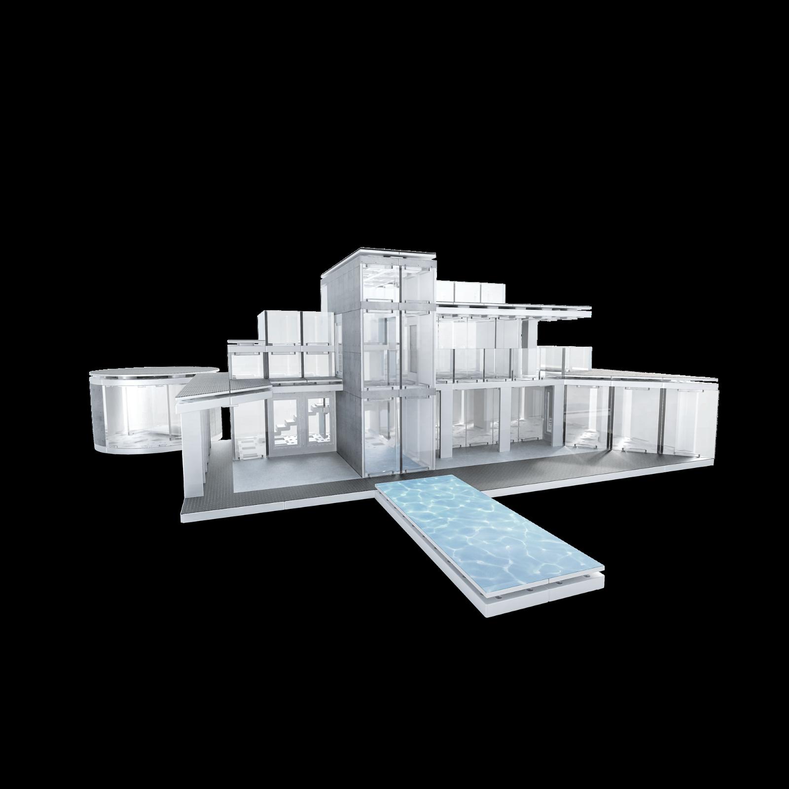 Details about Architectural Model Building Kit (570+ Piece) -Arckit 360