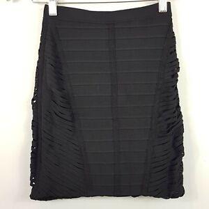 HERVE-LEGER-Womens-Black-Bandage-Skirt-RRP-500-Size-S-or-AU-8-US-4