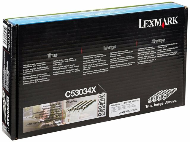 Genuine Original Lexmark C53034X Photoconductor Unit, only 2 in Pack (B)