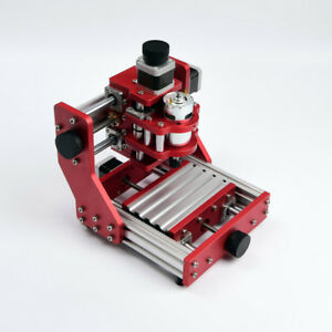 Mini Mill CNC 1208 Router Wood Engraver Carving Engraving Machine PCB Milling DE