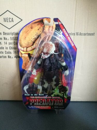 "NECA SERIES 16 PREDATOR STALKER  PREDATOR 7/"" FIGURE GLOW IN THE DARK"