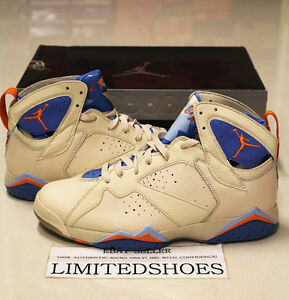 b053385eb144 2006 NIKE AIR JORDAN 7 VII RETRO PEARL WHITE PACIFIC BLUE 304775-281 ...
