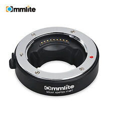 Commlite Adapter Auto Focus AF for Olympus 4/3 Lens to M4/3 Mount camera OM-D