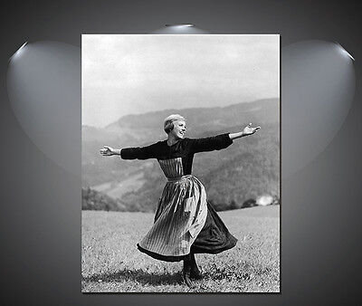 A3 A1 A2 A4 sizes Julie Andrews The Sound of Music Vintage Movie Poster