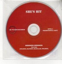 (BK540) She's Hit, Shimmer Shimmer - 2011 DJ CD