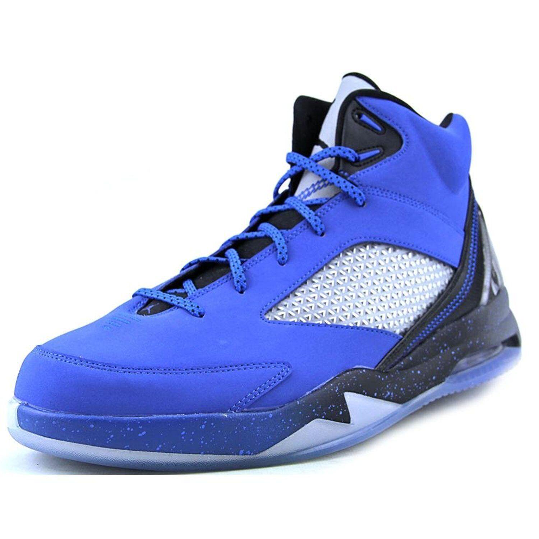 Men's Air Jordan Flight Remix Basketball Shoes, 679680 403 Size 10.5 Blue/Black/