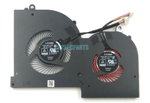 Genuine New MSI GS65 Stealth GS65VR MS-16Q2 GPU /& CPU Cooling Fan