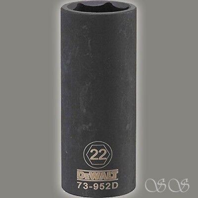 """Krachtig Dewalt Dwmt73952osp 6-point 1/2"""" Drive Deep Impact Socket Goederen Van Hoge Kwaliteit"""
